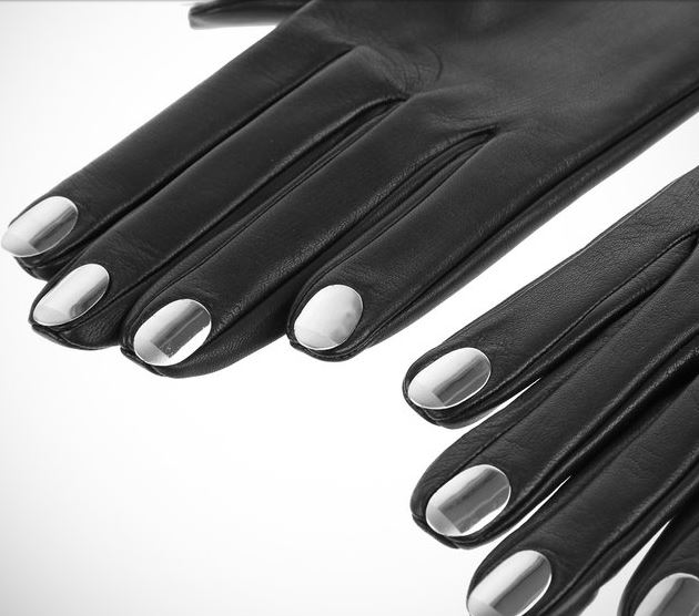 metal nail causse gloves