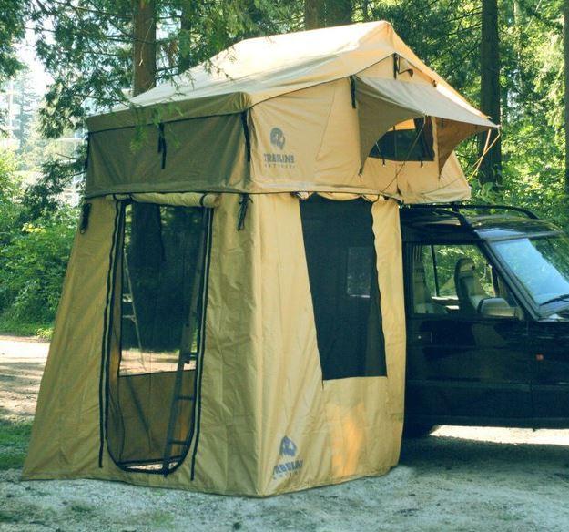 tree top tent