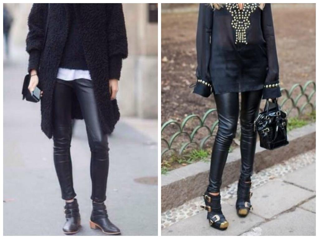 Publik leather leggings