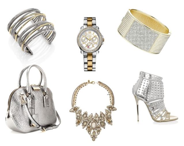 Silver and Gold Accessories