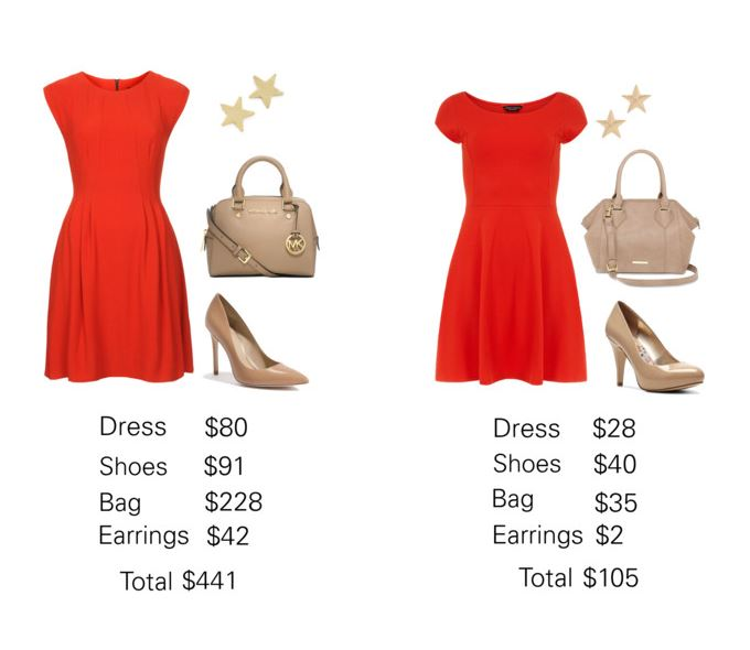 red dresses 2 budgets
