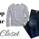 Shop your closet - striped tee
