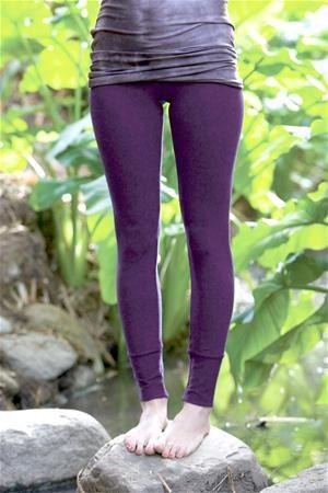 organic cuffed leggings