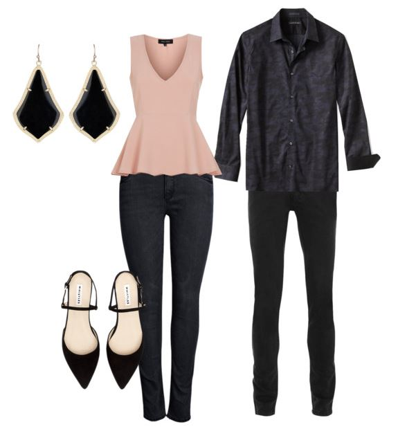 A chic and sophisticated look perfect for engagement photos!