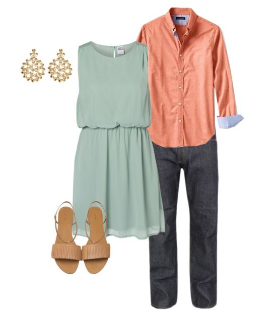 Great ideas on what to wear for your engagement photos from lifestyle website Splendry