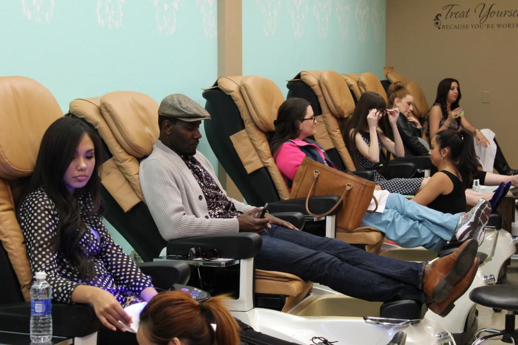 Polished Nail Salon guests