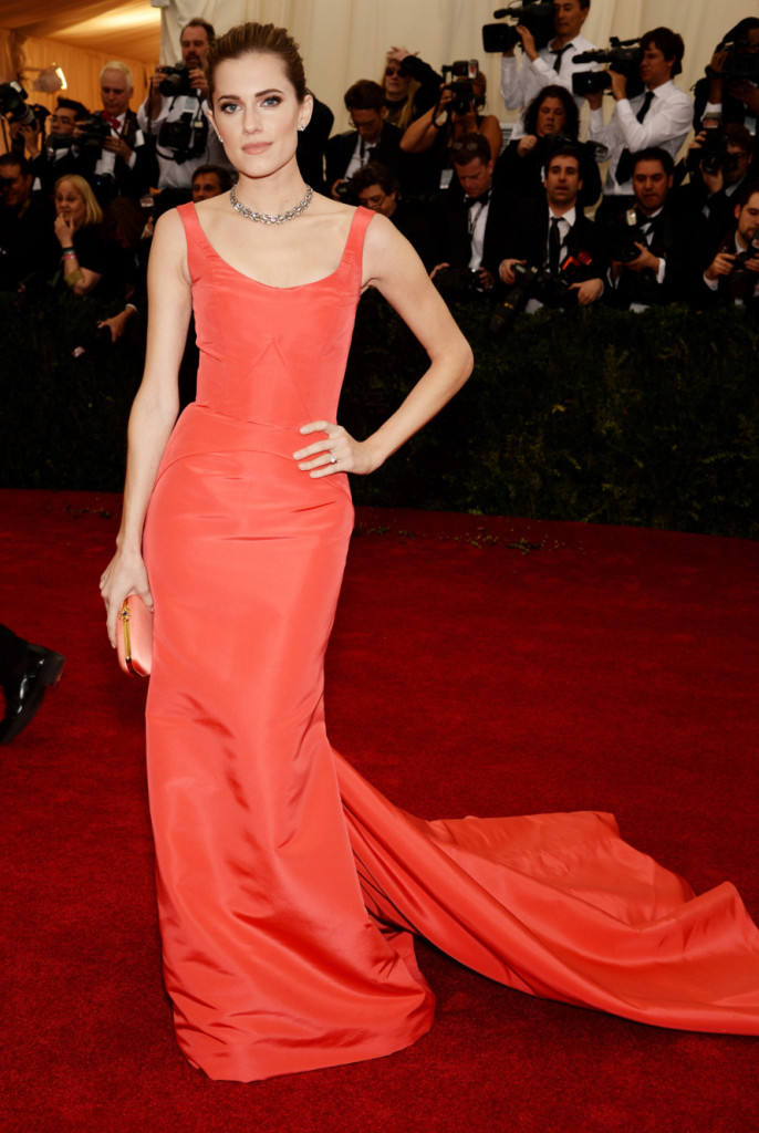 Allison Williams Met Ball 2014