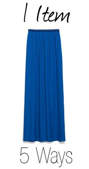 blue skirt cover