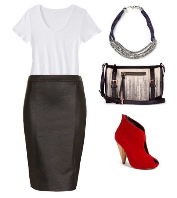 styling a white tee 3
