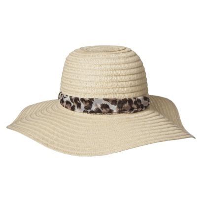 Target Leopard Sash Floppy Hat