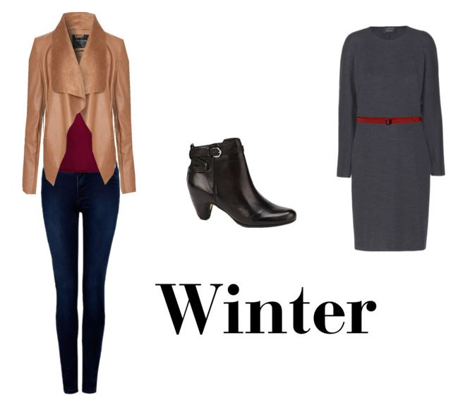 how to wear black ankle boots in winter