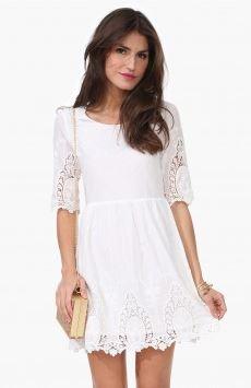 ellison lace dress