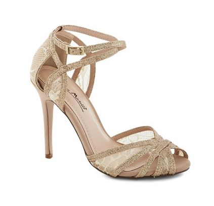 glitz and gleam heel