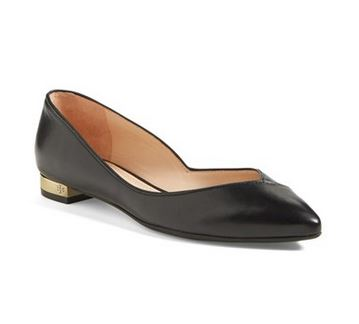 tory burch nicki flat