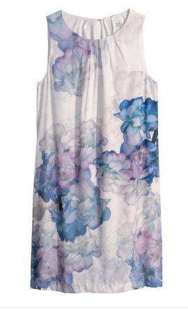 hm sleeveless floral dress
