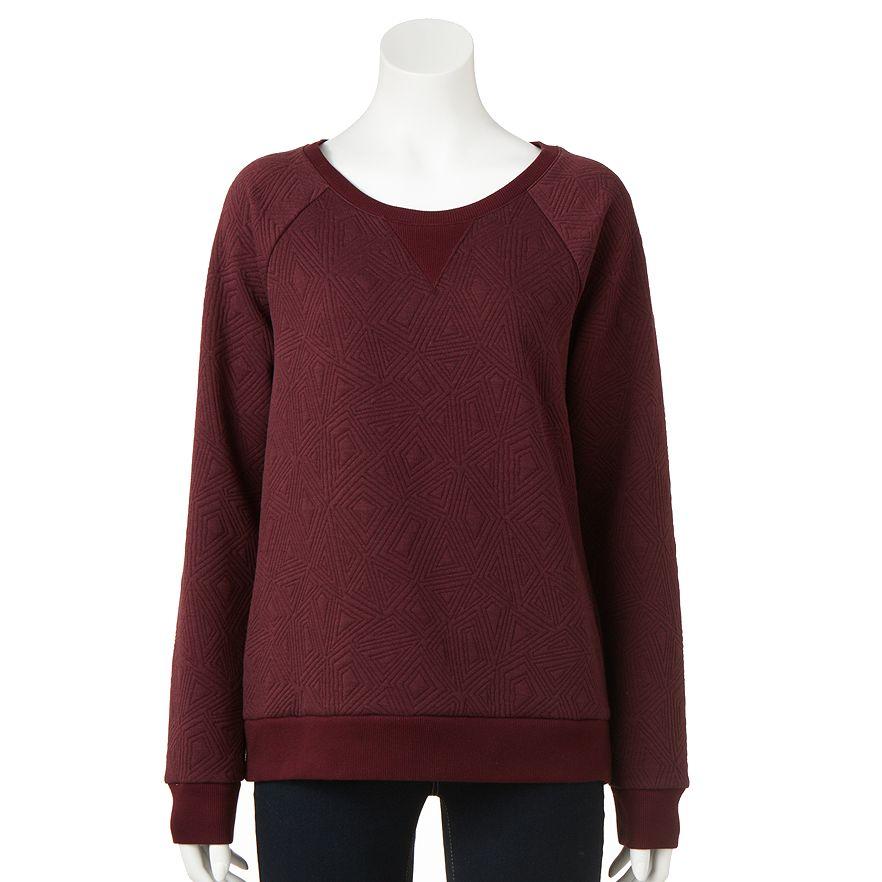 Kohls Apt 9 Geometric Sweatshirt
