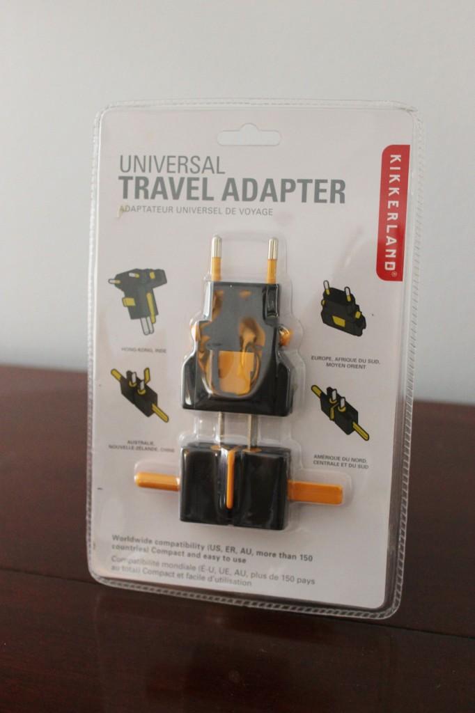 july fancy travel adapter