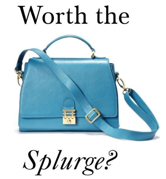 worth the splurge cover