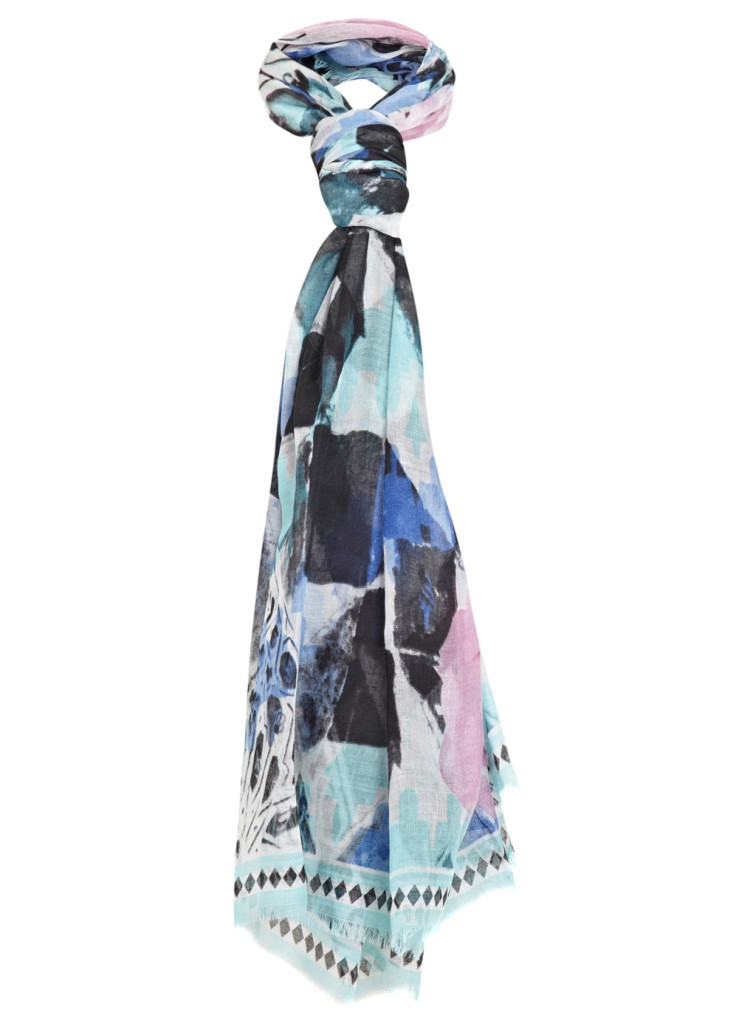 watercoulours scarf