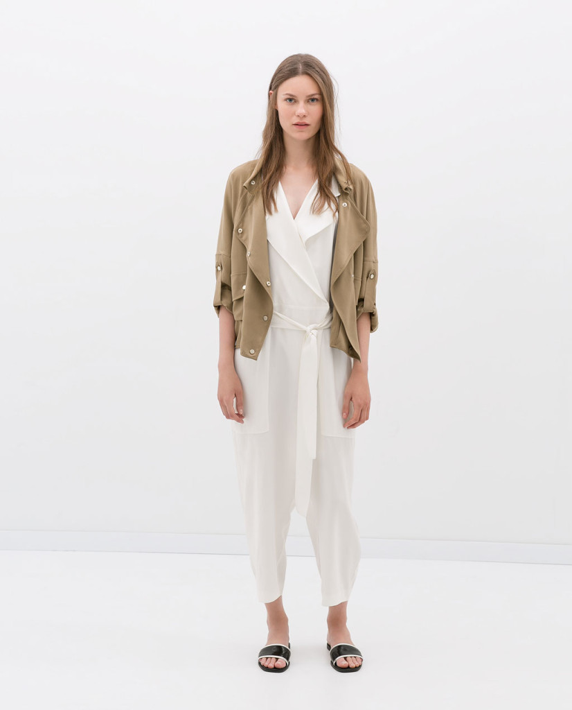 zara unstructured jacket
