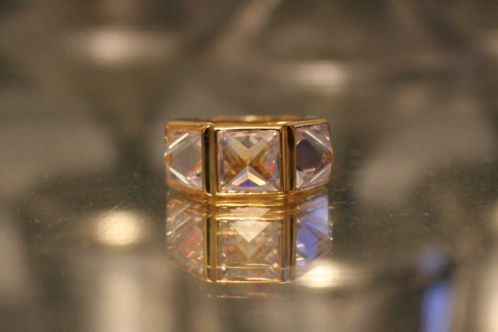 Coco Rocha Fancy Box Spiked Ring by Han Cholo