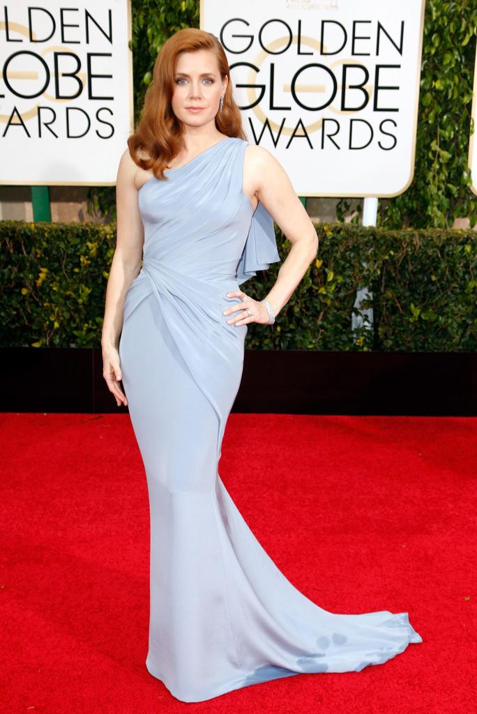 Amy Adams in Atelier Versace Golden Globes 2015