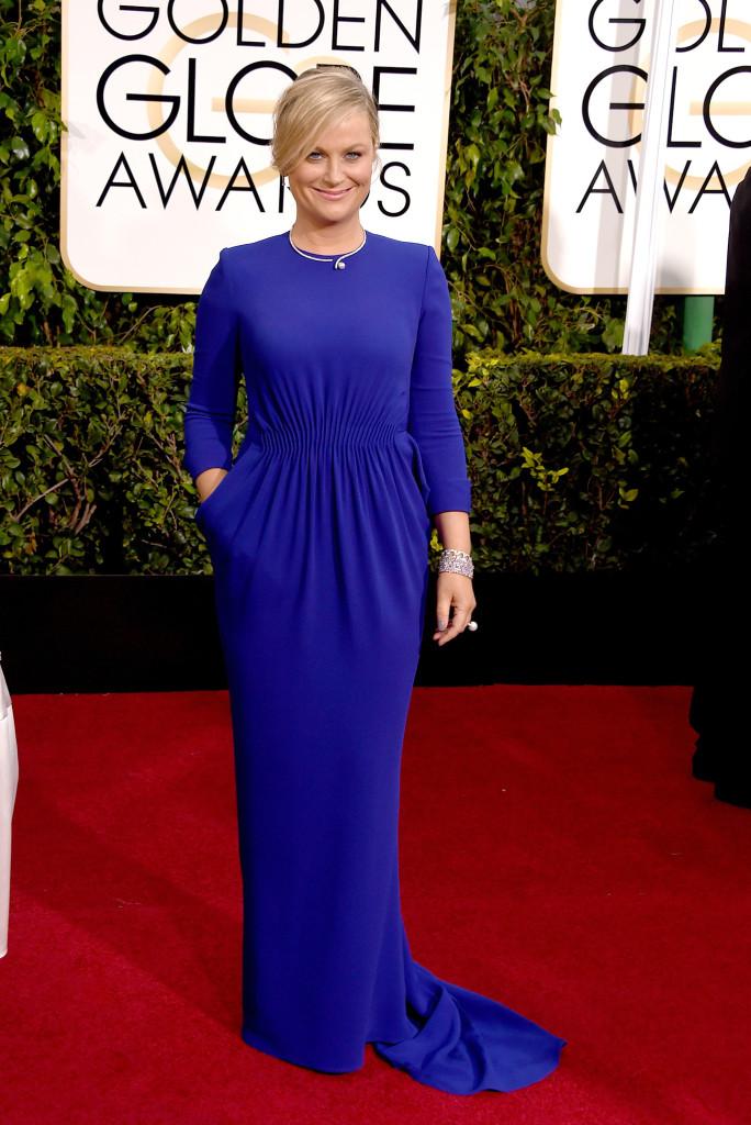 Amy Poehler in Stella McCartney Golden Globes 2015