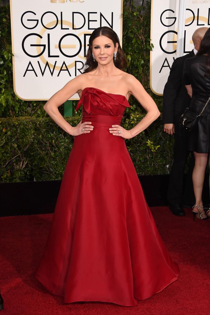 Catherine Zeta Jones Golden Globes 2015