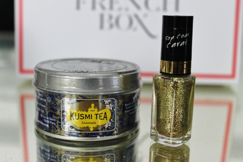 January French Box Tea and Nail Polish