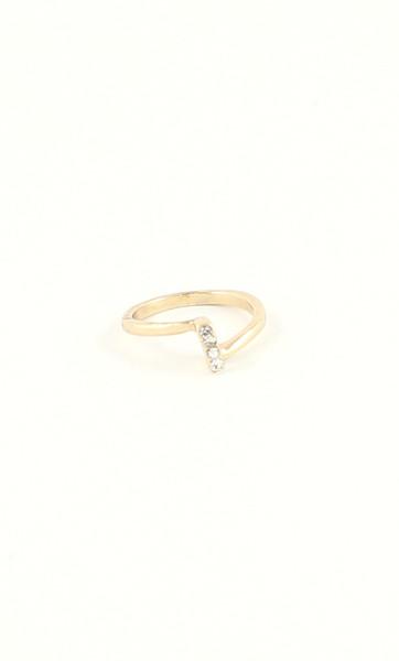 Crystal Bar Ring, $8
