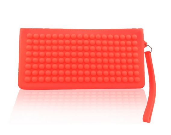 Peach Chelsea Clutch Rumba