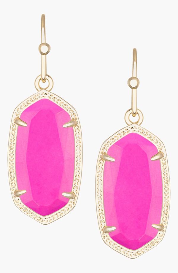 kendra scott dani stone drop earrings