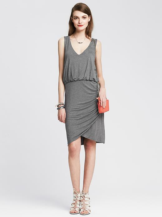 Banana Republic Shirred Dress