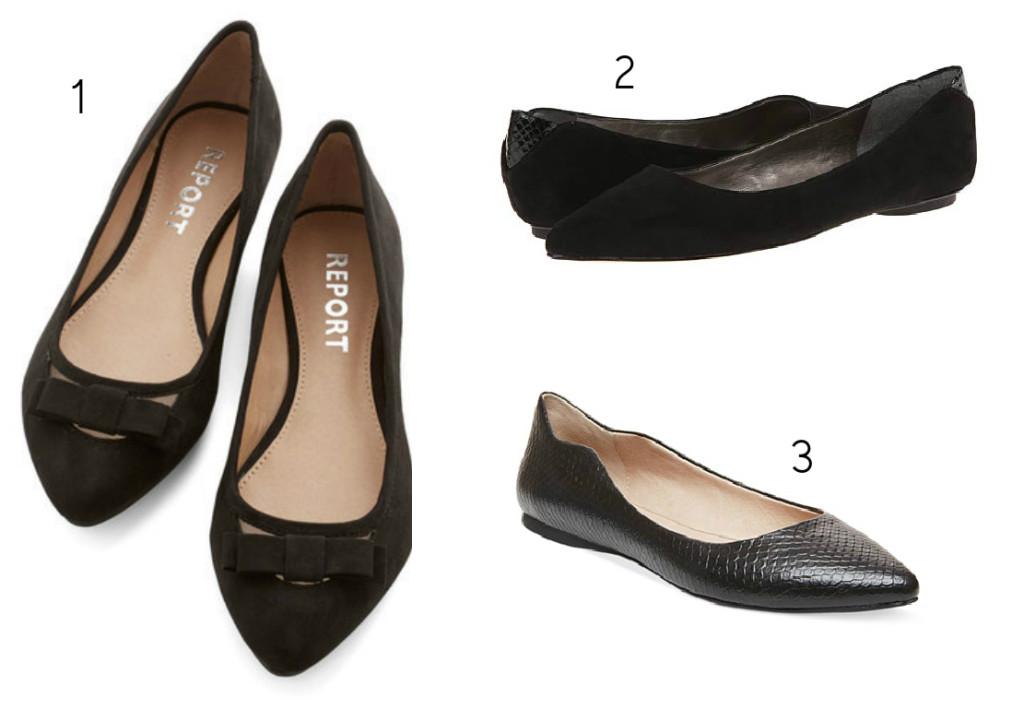 black flats 3 set