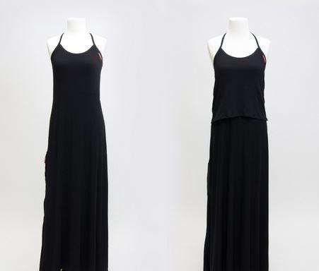 black undress
