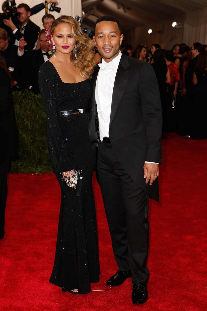 Chrissie Tiegen and John Legend