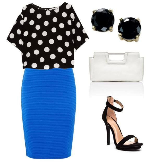 polka dot look 1