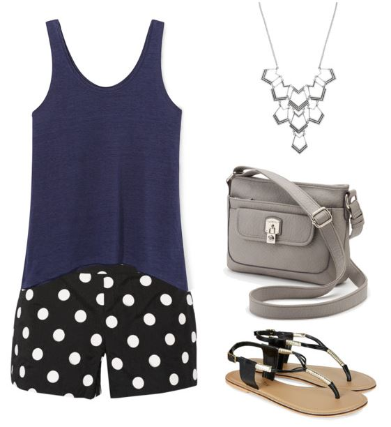 polka dot look 3