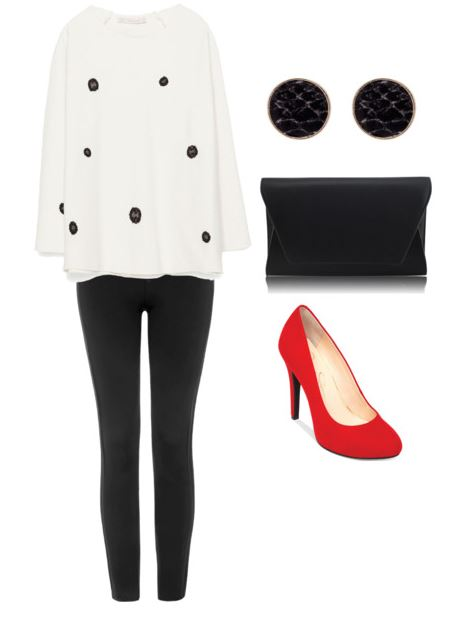 polka dot look 5