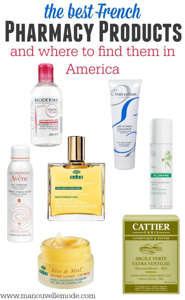 best french pharmacy products