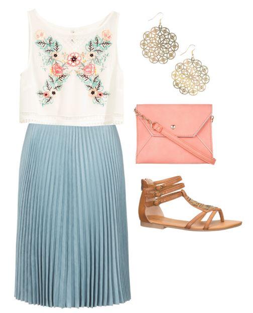 blue skirt 2