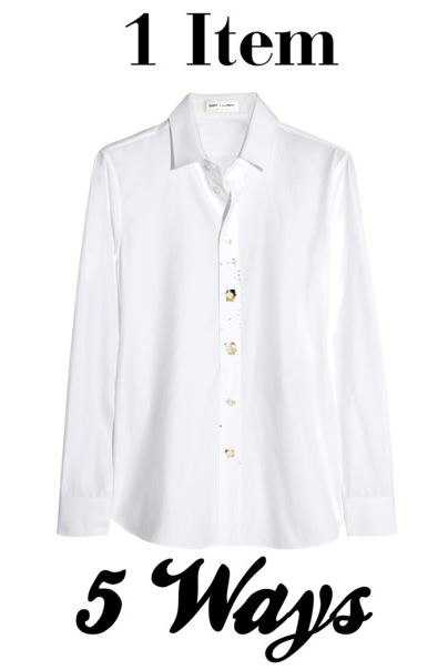 white button down cover