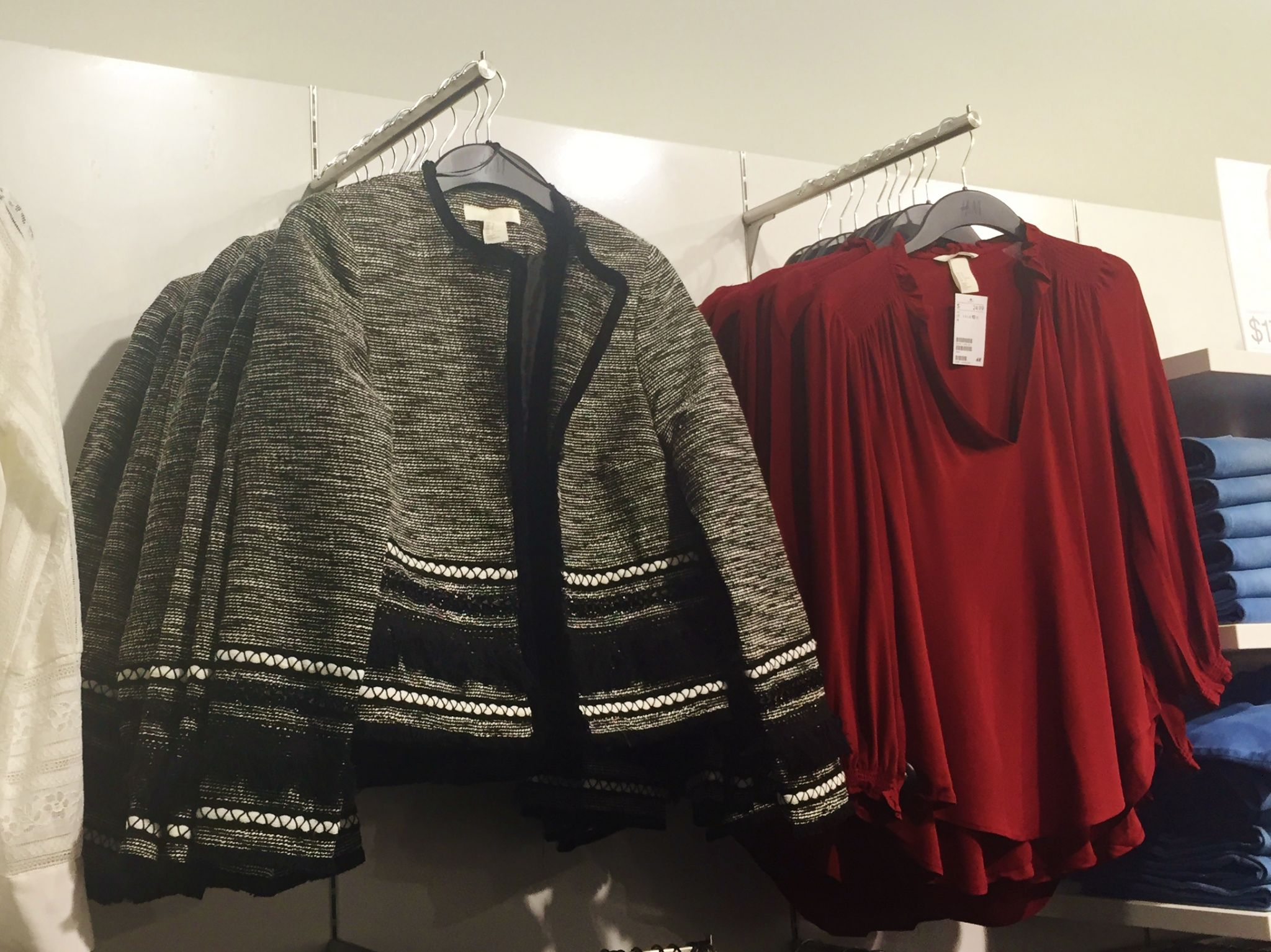 H&M Grand Opening clothing 4