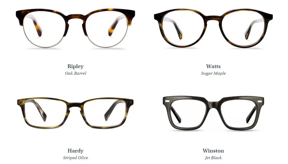 glasses warby parker