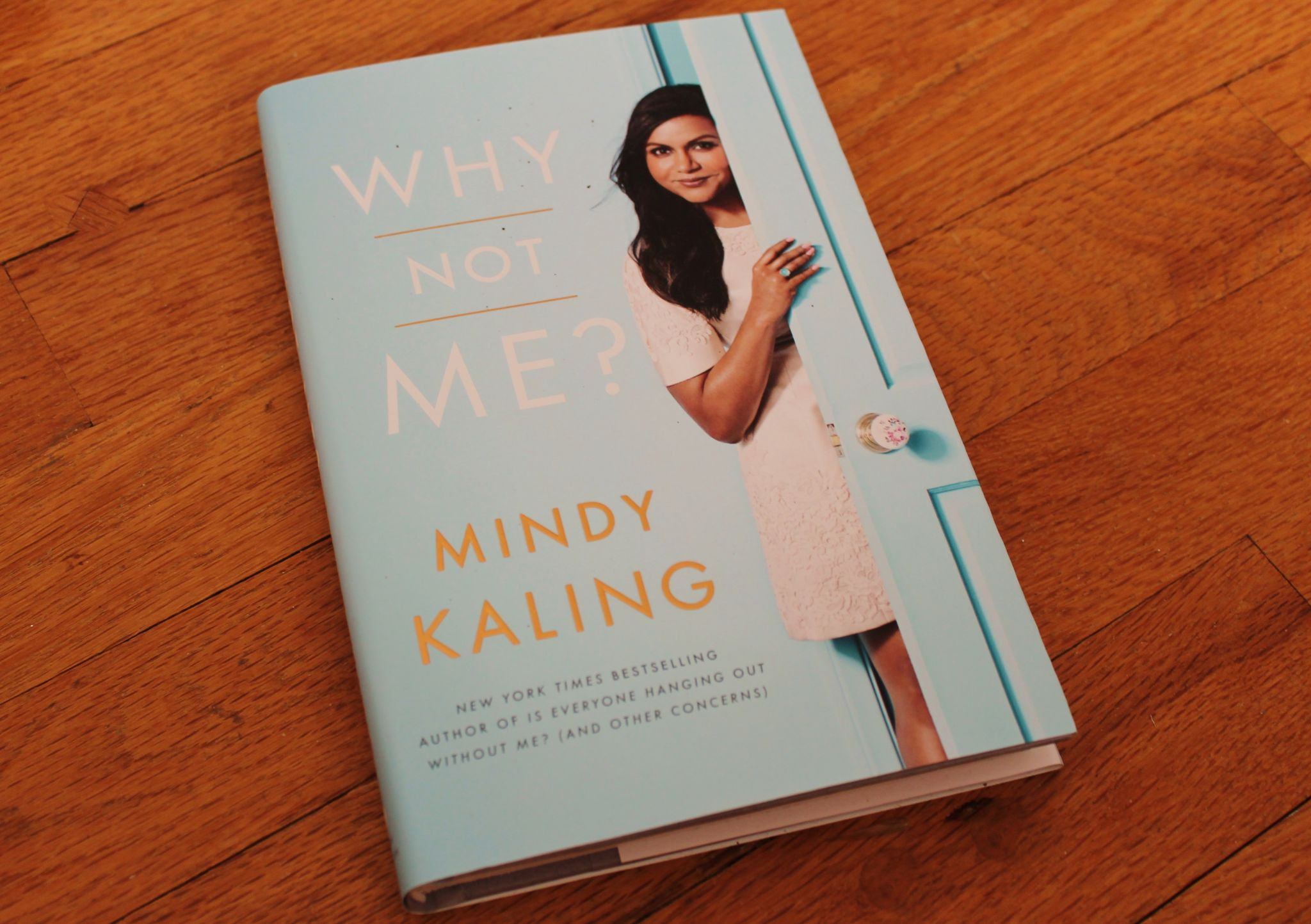 Popsugar Must Have October Box Why Not Me by Mindy Kaling