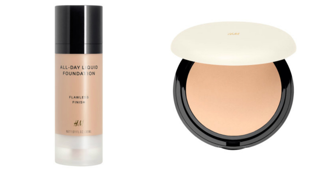foundation liquid and powder h&M