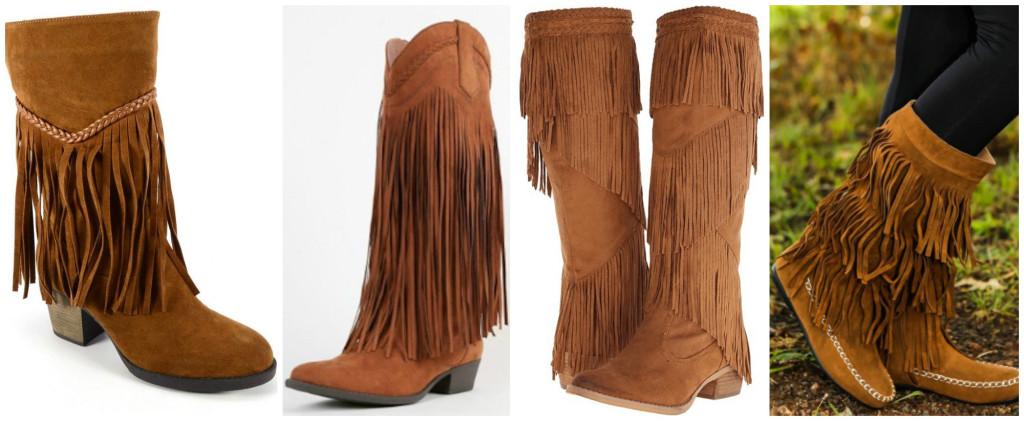 fringe boot options