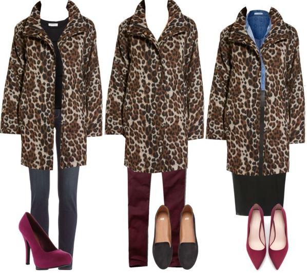 leopard coat styling