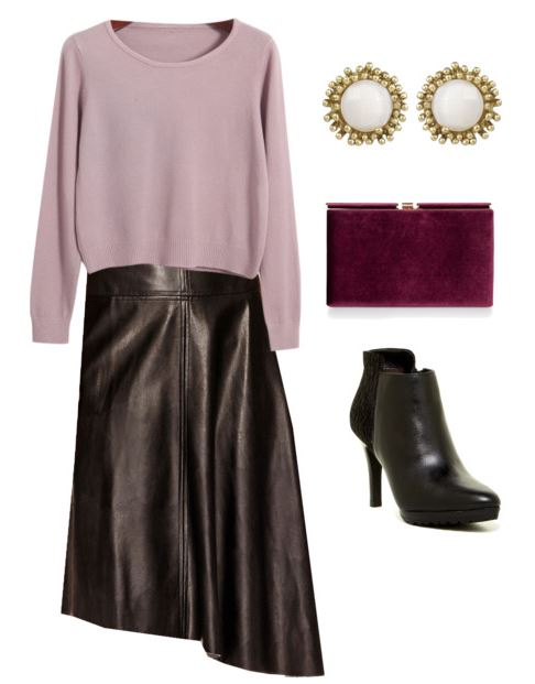 styling a leather skirt 1