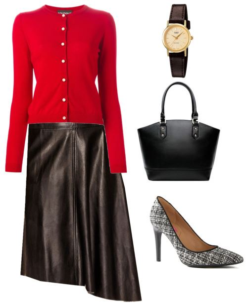 styling a leather skirt 4